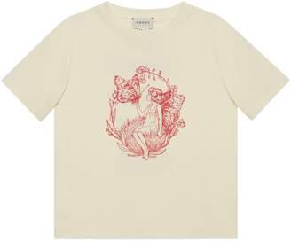 Gucci Children's Fredrick Warne print T-shirt
