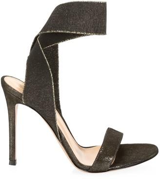 Gianvito Rossi Elastic-Strap Stiletto Sandals