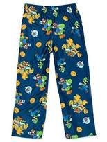 Nintendo Super Mario Boy's Flannel Lounge Pajama Pants (Little Kid/Big Kid)