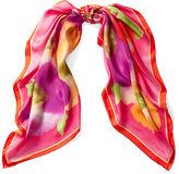 Ralph Lauren Regina Floral Silk Scarf