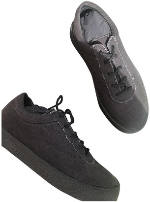Yeezy Black Suede Trainers