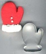 Mitten Metal Cookie Cutter by Unknown