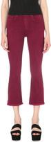 Rag & Bone Flared cropped mid-rise jeans