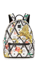 MCM Stark Motif Rombi Backpack