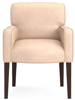 Williams-Sonoma Fitzgerald Leather Dining Armchair