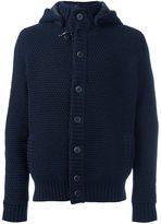 Fay hooded knit jacket