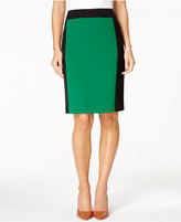 Nine West Colorblocked Pencil Skirt