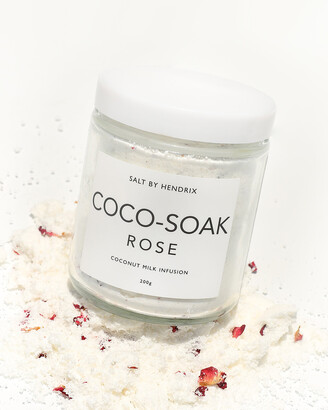 SALT BY HENDRIX Women's White Bath - Cocosoak - Rose - Size One Size, 220g at The Iconic