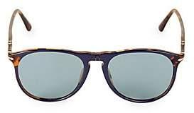 Persol Men's 55MM Havana Wayfarer Sunglasses
