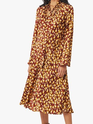 Ghost Ayla Dress, Carlyn Flower