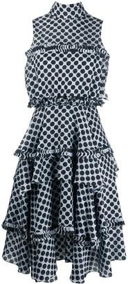 Alexandre Vauthier Polka-Dot Print Dress