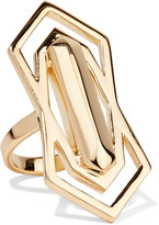 Noir Pahlavi gold-tone ring