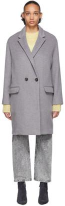 Isabel Marant Grey Filipo Coat