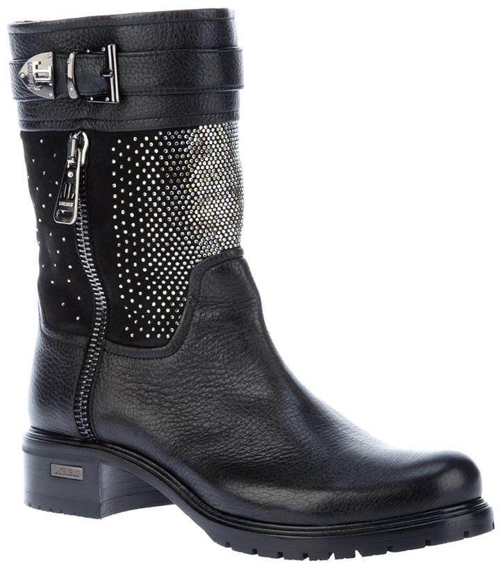 Loriblu studded biker boot