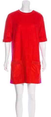 Louis Vuitton Fleece Shift Dress