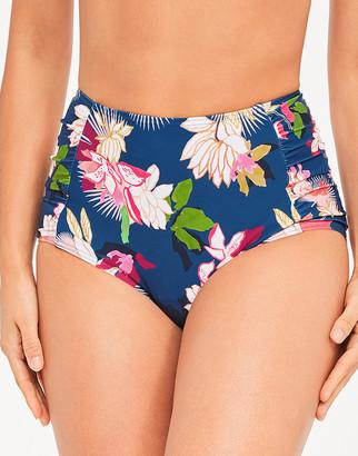 Figleaves Luana High Waist Tummy Control Floral Bikini Brief