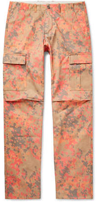 Resort Corps Camouflage-Print Cotton-Twill Cargo Trousers