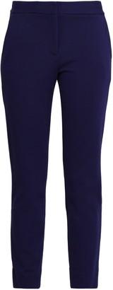 Diane von Furstenberg Cropped Stretch-knit Wide-leg Pants