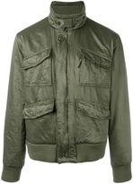 Aspesi funnel neck bomber jacket