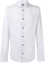 Armani Jeans polka dot print shirt - men - Cotton - L