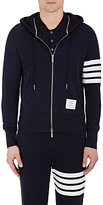 Thom Browne Men's Block-Striped Cotton Hoodie
