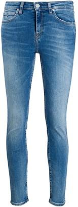 Calvin Klein Jeans faded skinny jeans