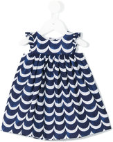 Tartine et Chocolat scalloped pattern dress - kids - Cotton - 6 mth