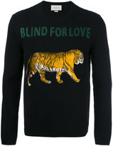 Gucci Blind For Love jumper - men - Acrylic/Polyester/Wool - S