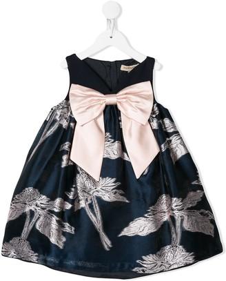 Hucklebones London sweetheart trapeze dress