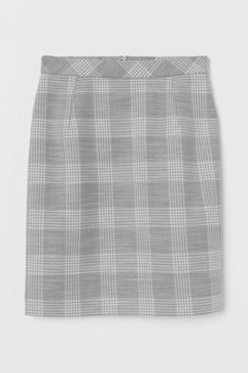 H&M Short pencil skirt