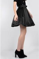 Molly Bracken Short Plain Skater Skirt