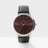 Paul Smith Men's Red And Black 'Ma' Watch