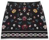 Ella Moss Girls' Embroidered Kera Skirt - Big Kid