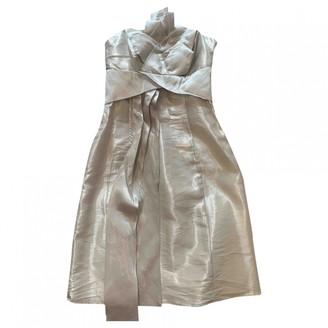 Karen Millen Grey Silk Dress for Women