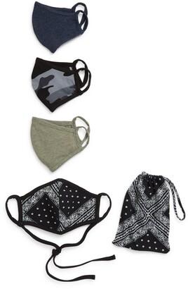 Nordstrom Adult Face Masks - Pack of 4
