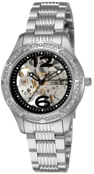 Stuhrling Original Executive 335.121110 Stainless Steel & Diamond 34mm Watch