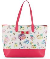 Betsey Johnson Be My Bow Floral-Print Tote