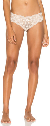 Eberjey India Lace Low Rise Thong