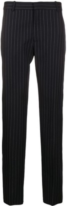 Alexander McQueen pin stripe trousers