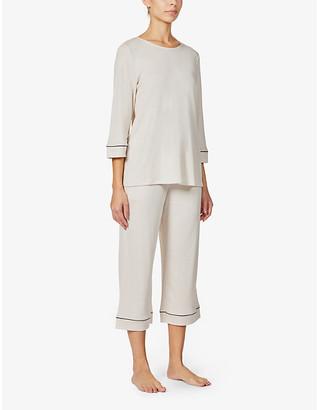 Hanro Natural Comfort woven pyjama set