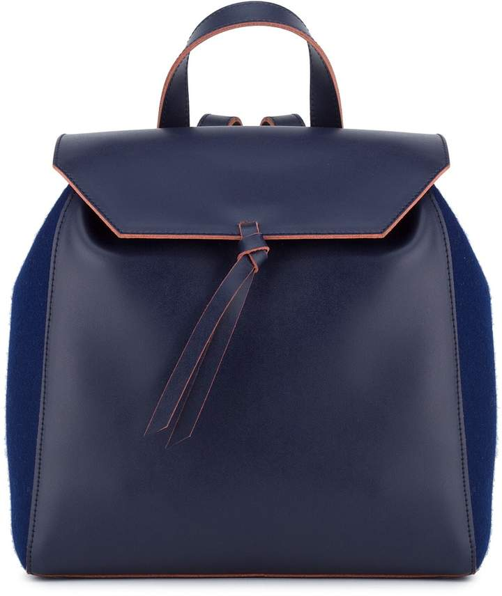 Alexandra de Curtis Hepburn Backpack - Navy Blue