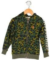 Scotch Shrunk Boys' Printed Zip-Up Jacket w/ Tags