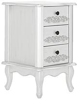 Collection Sophia 3 Drawer Bedside Cabinet - Ivory