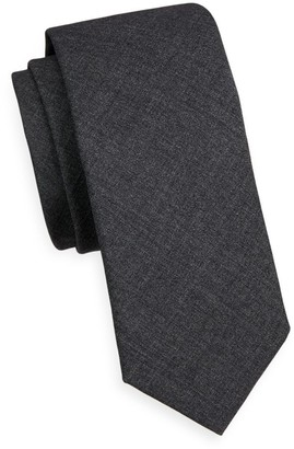 Brunello Cucinelli Solid Wool Tie
