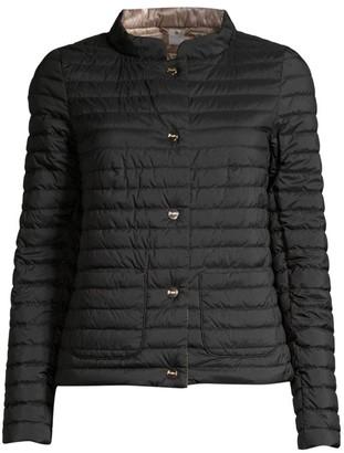 Herno Matte & Shiny Basic Reversible Jacket