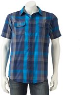 Burnside Men's Checked Button-Down Shirt