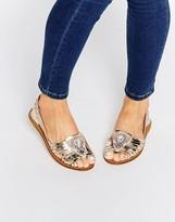 Asos JULIEN Leather Embellished Shoes