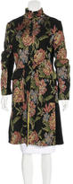 Etro Floral Knee-Length Coat