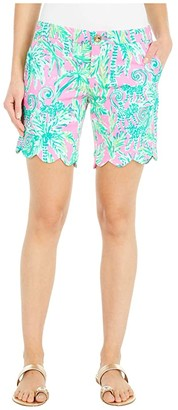 Lilly Pulitzer Darci Knit Shorts (Prosecco Pink Hangin Around) Women's Shorts