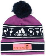 adidas by Stella McCartney Stella McCartney purple bobble hat